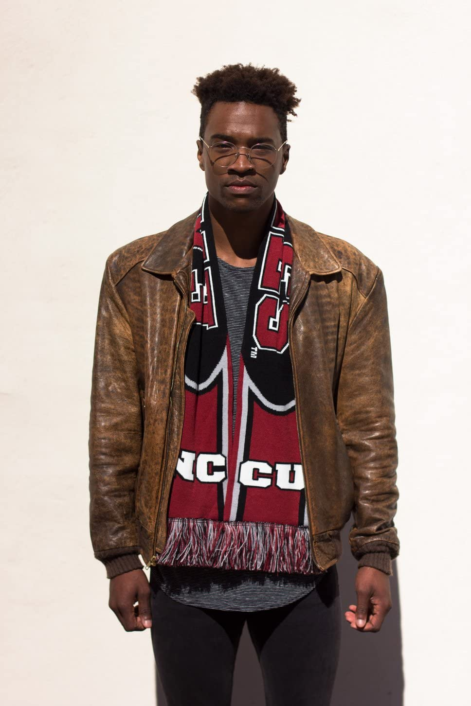 North Carolina Central University Special Edition Knitted NCCU Eagles Scarf