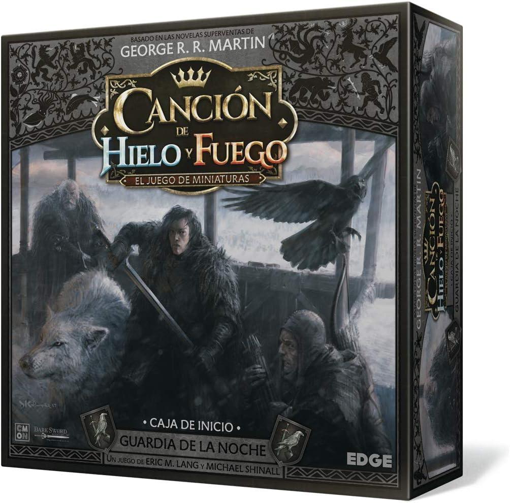 Edge Entertainment- CdHyF el Juego de miniaturas: Guardia de la Noche, Color (EECMSI02): Amazon.es: Juguetes y juegos