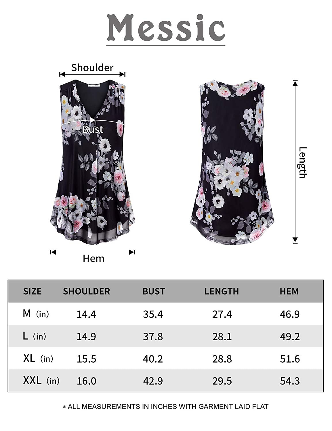 Messic Womens Summer Casual Round Neck Short Sleeve Loose T Shirt Tops