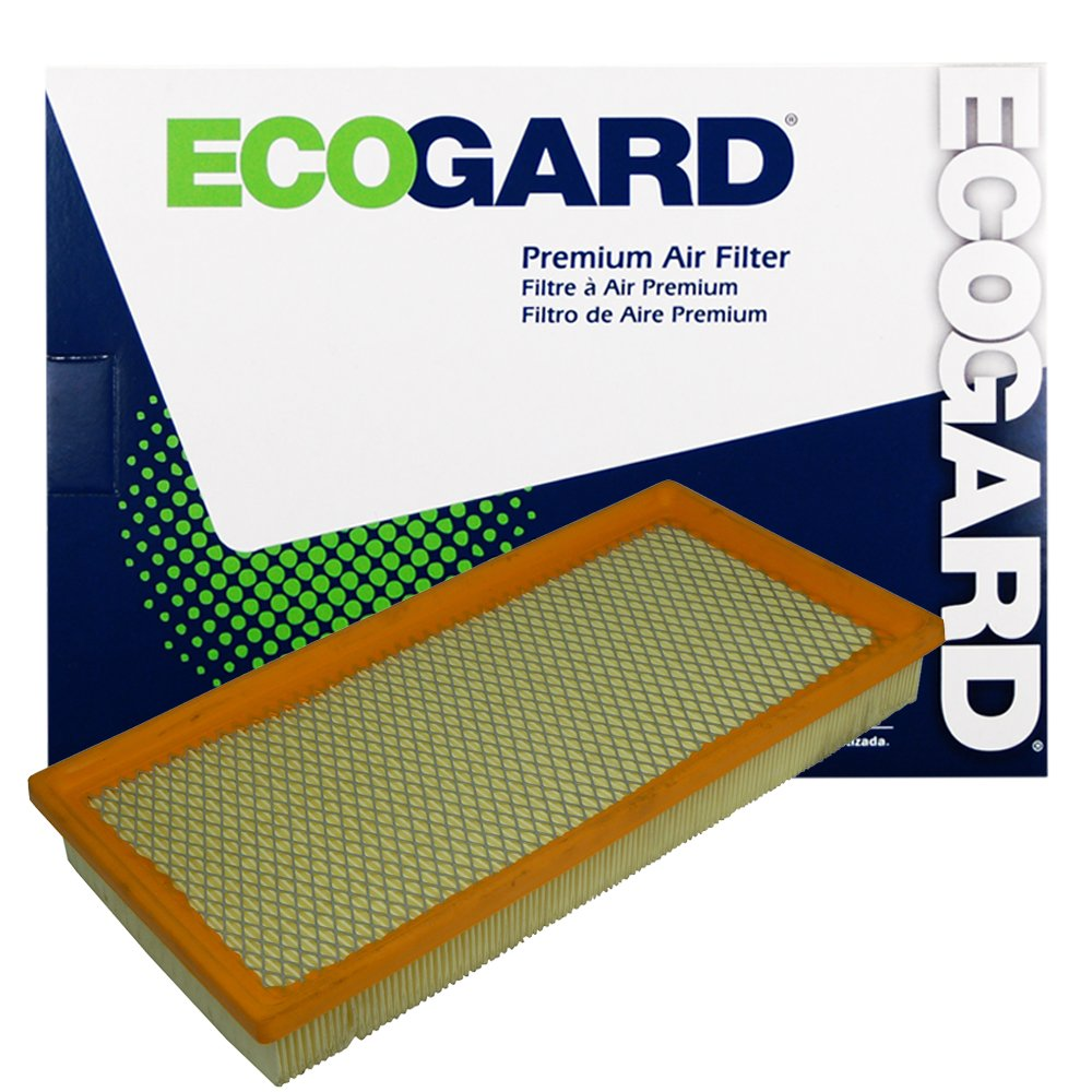 Ecogard Xa4372 Premium Engine Air Filter Fits Dodge 2011 Durango Fuel Dakota Ram 1500 Jeep Cherokee 2500 Comanche Mitsubishi Raider