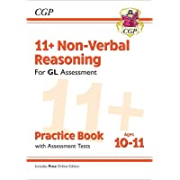 11+ GL Non-Verbal Reasoning Practice Book & Assessment Tests - Ages 10-11 (with Online Edition)