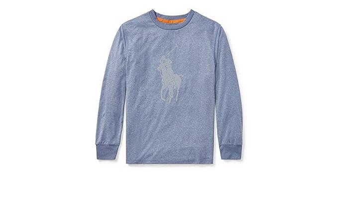 4c851e82 Amazon.com: RALPH LAUREN Polo Boys 2-7 Performance Jersey T-Shirt ...