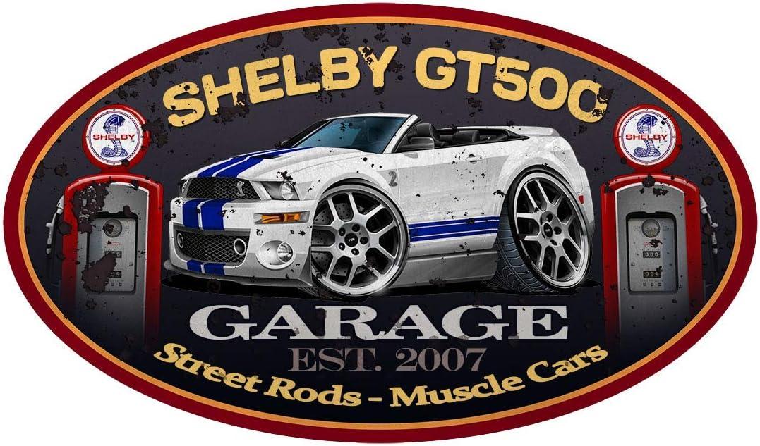 FREE SHIPPING Cobra Ford Mustang Snake Vinyl Die Cut Car Decal Sticker