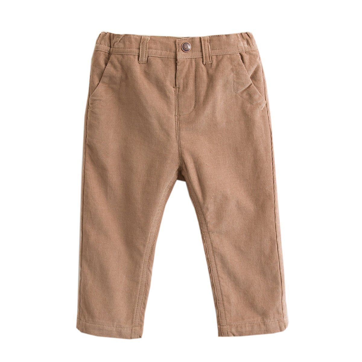marc janie Baby Toddler Boys Corduroy Solid Color Pants