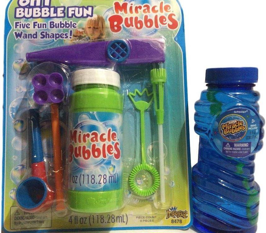 Maxx Bubbles Bubble Solution Sunny Days 6 Pack 4 FL OZ 51D