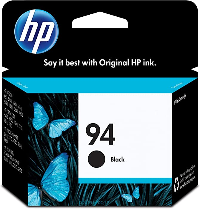 HP 94 | Ink Cartridge | Black | C8765WN, One Size