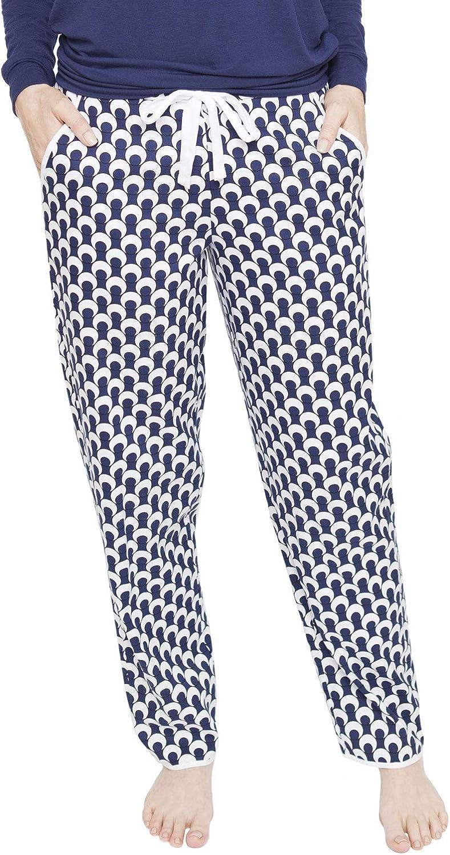 Cyberjammies 4063 Womens Rosie Navy Blue Pyjama Pant