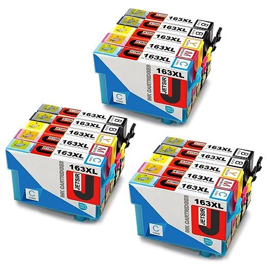 3 opinioni per JETSIR Compatibile Cartucce d'inchiostro Sostituzione per Epson 16XL, Alta