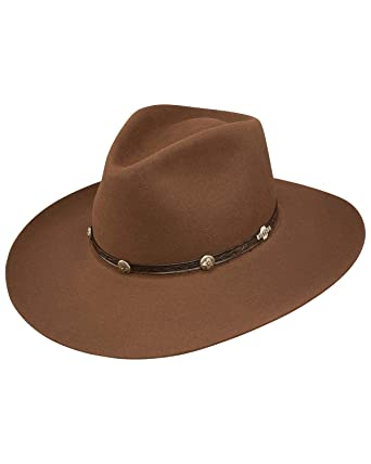 Image Unavailable. Image not available for. Color  Stetson Unisex Ashford  6X Felt Cowboy Hat ... 0eb5a1f2cd60