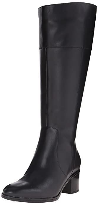 Amazon.com | Naturalizer Women's Harbor Wide-Calf Riding Boot ...