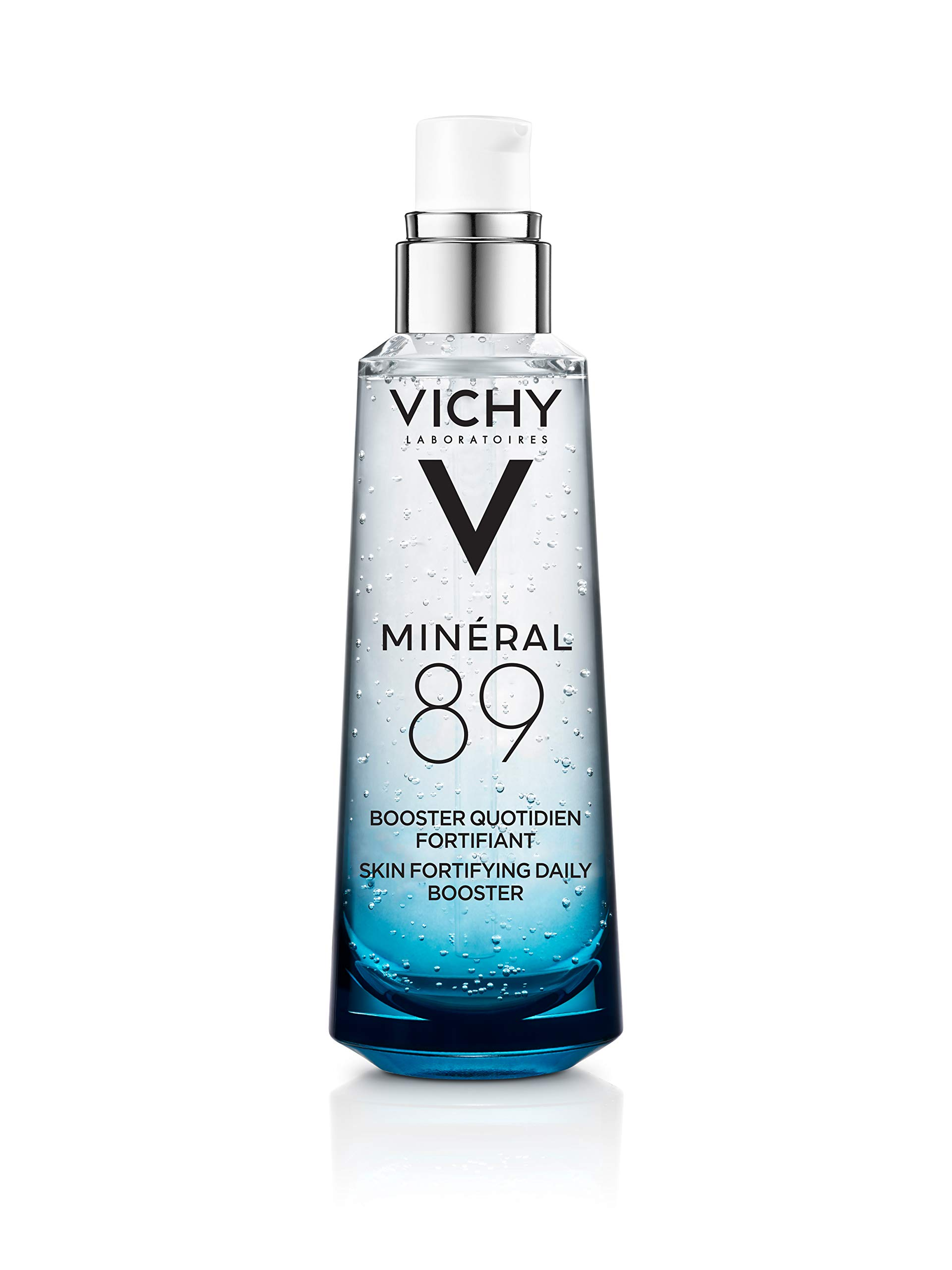 Vichy Mineral 89 Hydrating Hyaluronic Acid Serum and Daily Skin Booster, For Stronger, Healthier Looking Skin, 2.54 Fl. Oz. by Vichy (Image #1)