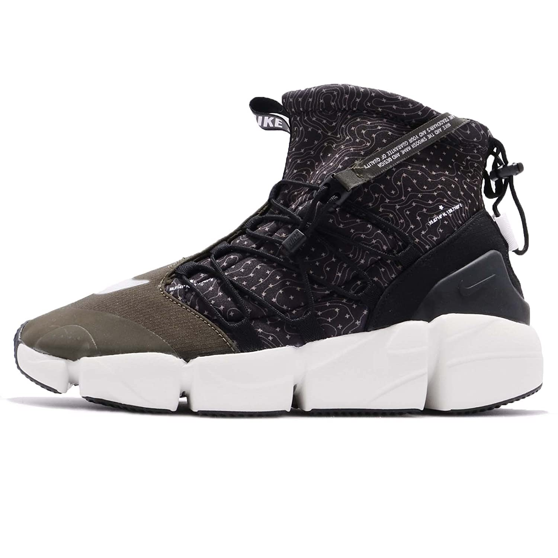22ad141a6527 Green Nike Men's Air Footscape Mid Utility, Obsidian Obsidian ...