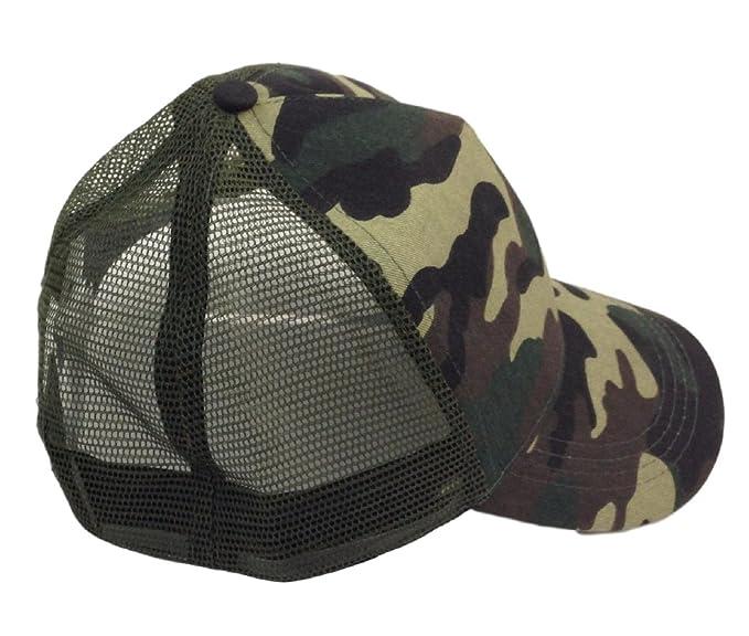 CMG - Gorra de béisbol - para hombre Verde militar Talla única: Amazon.es: Ropa y accesorios
