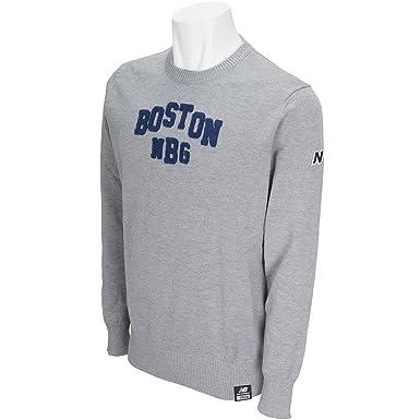 6ca48b7c14c71 ニューバランス New Balance 中間着(セーター、トレーナー) METRO BOSTONロゴクルーネックセーター
