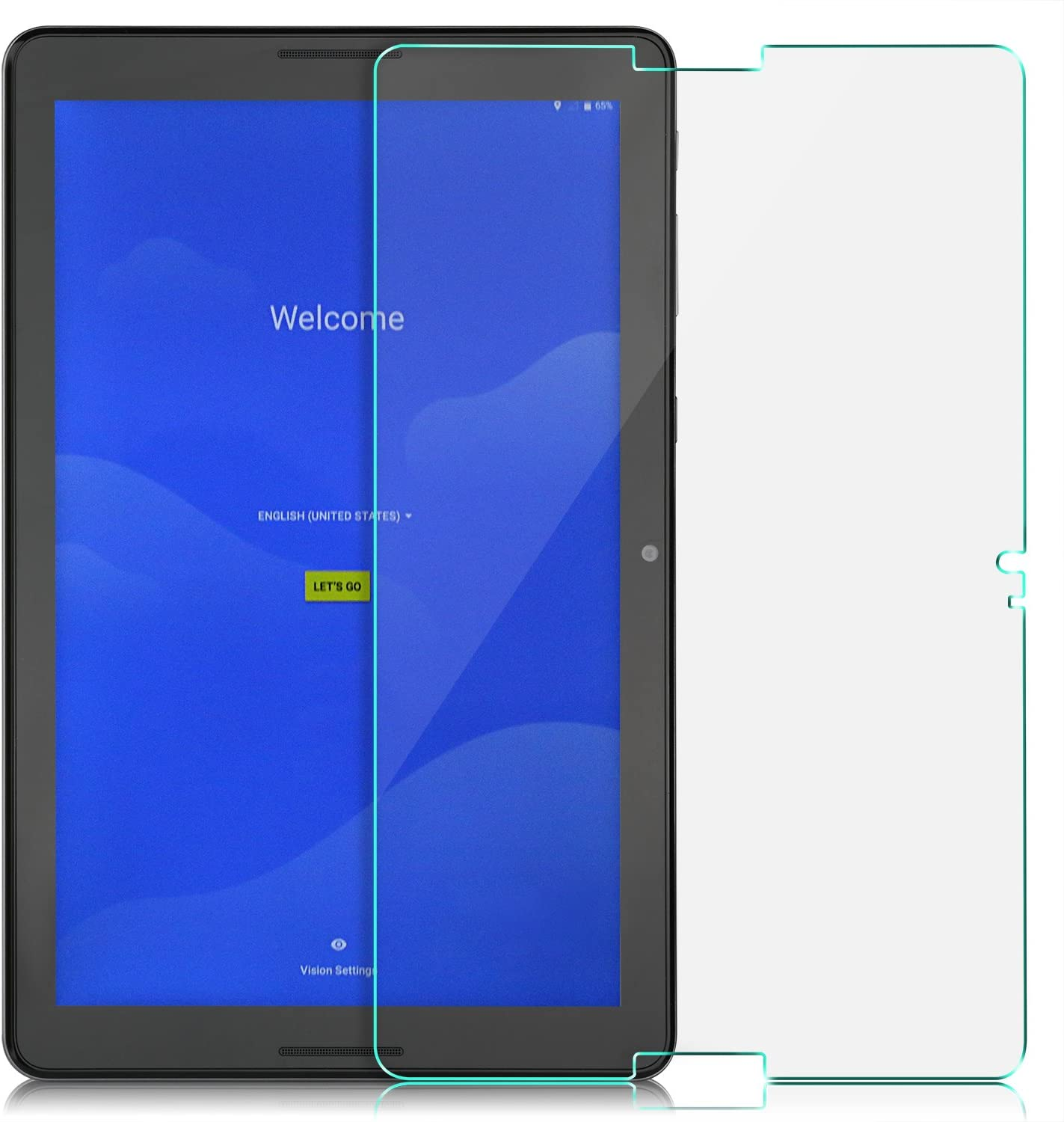 Supershieldz Tempered Glass Screen Protector for AT/&T Primetime