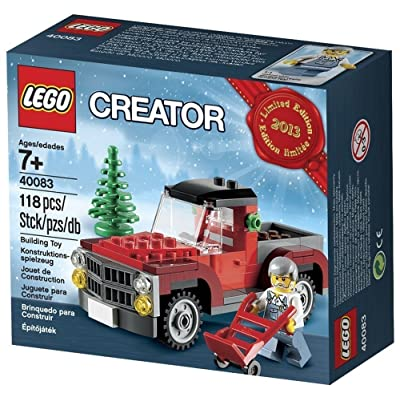 Lego Creator Tree Truck 2013 Limited Edition Holiday Set 40083: Toys & Games
