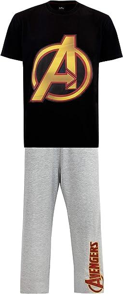 Marvel Pijama para Hombre Avengers: Amazon.es: Ropa y accesorios