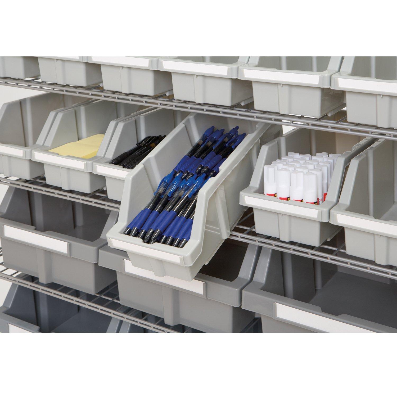 Seville Classics WEBK402 Extra Large Bins for Commercial Bin Rack System 2-Pack
