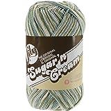 Lily Sugar 'N Cream Big Ball Ombre Yarn, 12 Ounce, Emerald Isle, Single Ball