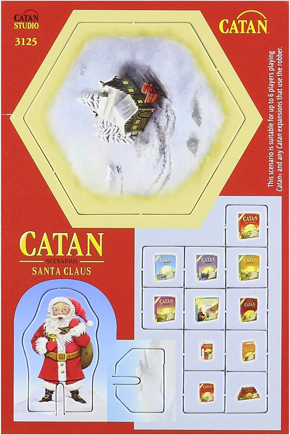 Mayfair Catan Scenario: Santa Claus: Amazon.es: Juguetes y juegos