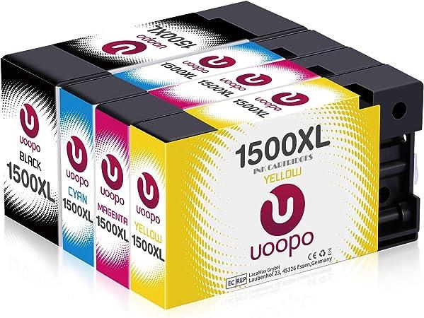 Uoopo 1500xl Patronen Kompatibel Mit Canon Pgi 1500xl Elektronik