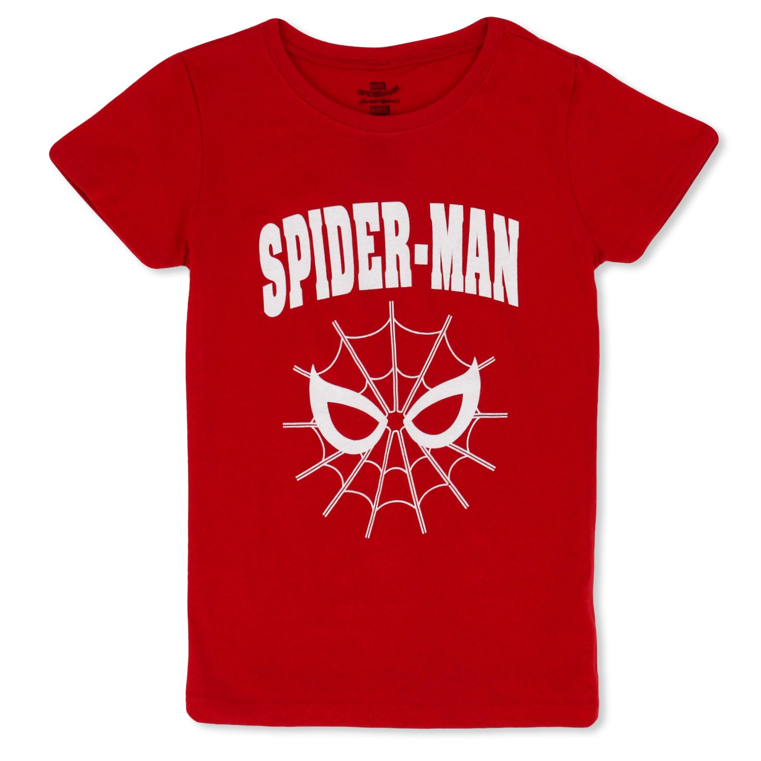 7aff11a32 Choose from prints of beloved heroes such as the Amazing Spider-Man, Groot,  or even the Avengers girls tees.