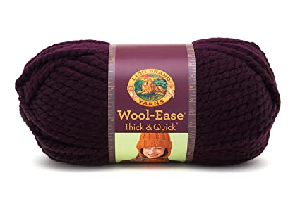 Amazon Com Lion 640 147 Wool Ease Thick Quick Yarn 97 Meters