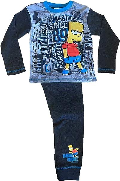 """The Simpsons /""""Bart/"""" Boys Pyjamas"""