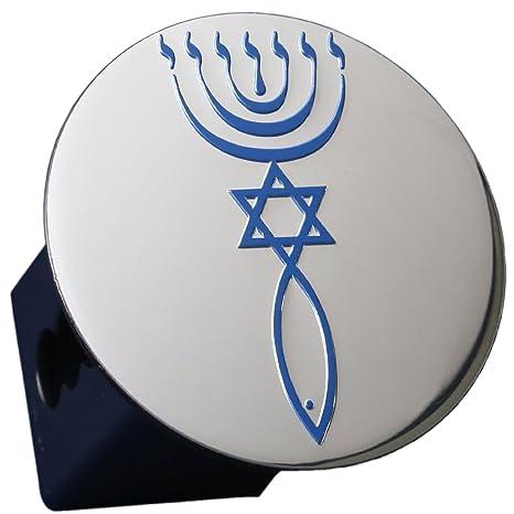 Amazon Messianic Jewish Seal Metal Embossed Emblem On Metal