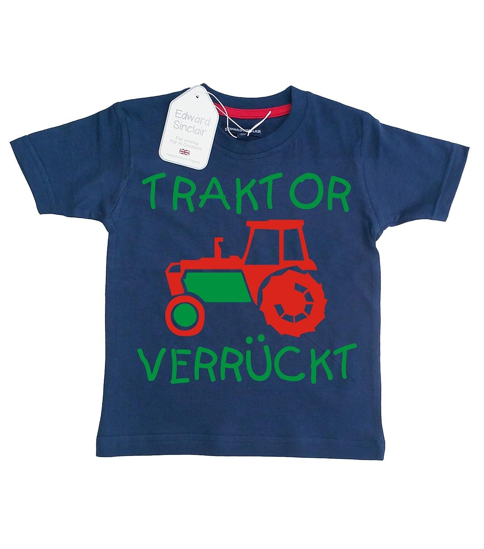 Baby & Kleinkind T-shirt 'TRAKTOR VERRÜCKT''