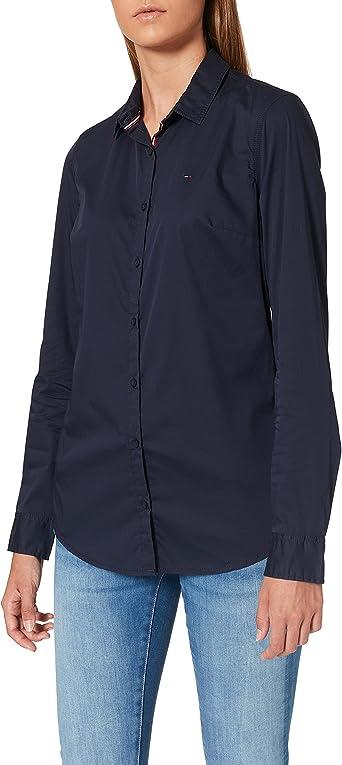 Tommy Hilfiger Basic Stretch Blusa para Mujer