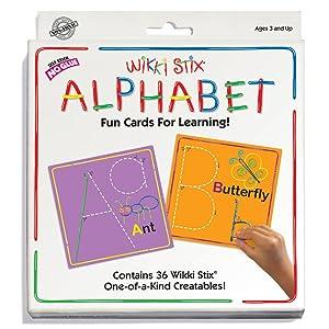 WikkiStix Alphabet Cards Set