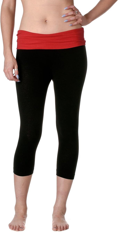 Amazon.com: Zenana de la mujer Yoga Capri: Clothing