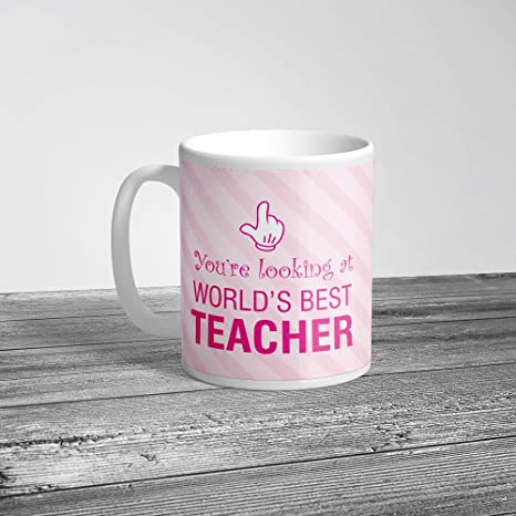 89c4688d7d9 Buy Krazzy Kollections Best Teacher Ever Mug | 1 Ceramic Mug | Gift ...