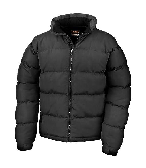 Result Mens Holkham Down Feel Puffer Puffa Coat Jacket: Amazon.co ...