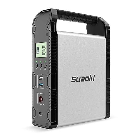Amazon.com: SUAOKI 200Wh Estación de energía solar, S200 ...