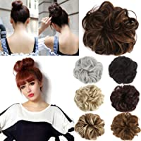 Hair Extensions Wavy Curly Messy Hair Bun Extensions Donut Hair Chignons Hair Piece Wig Hairpiece Scrunchy Scrunchie Hair Bun Updo Hairpiece Hair Ribbon Ponytail Extensions