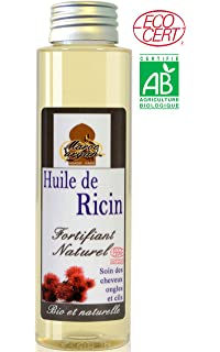 Aceite de Ricino 100% Orgánico y Natural - el crecimiento y la fuerza del cabello