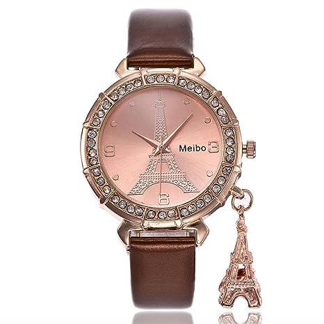 Relojes dellin MB23 Mujer hacha äufige bælte de mármol banda de banda de acero inoxidable de
