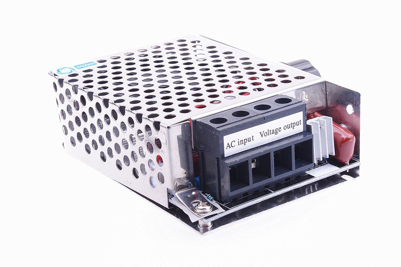 SMAKN/® AC 0-220V 50A Pulse Width Modulator PWM Electric Motor Speed Controller Max 10000W TRTV1562