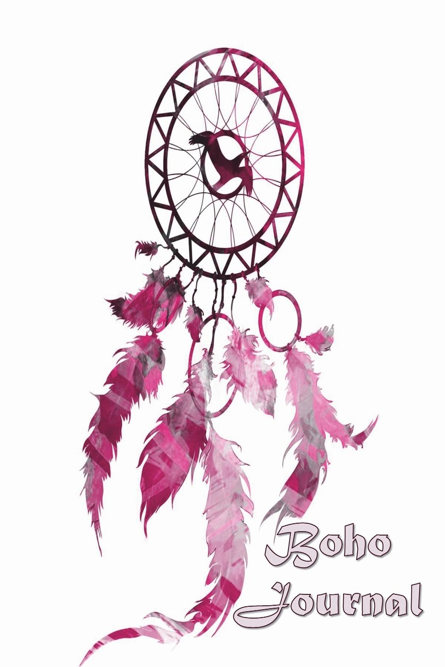Download Boho Journal: 140 Lined Pages Softcover Notes Diary, Creative Writing, Class Notes, Composition Notebook - Pink Watercolor Dreamcatcher ebook