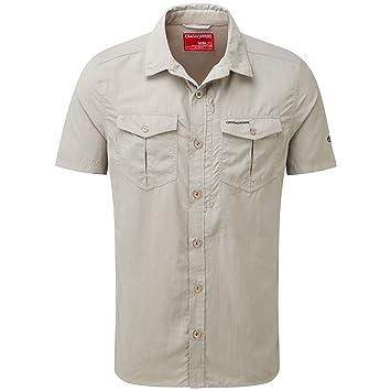 Craghoppers Mens NosiLife Adventure Cool Short Sleeve Shirt