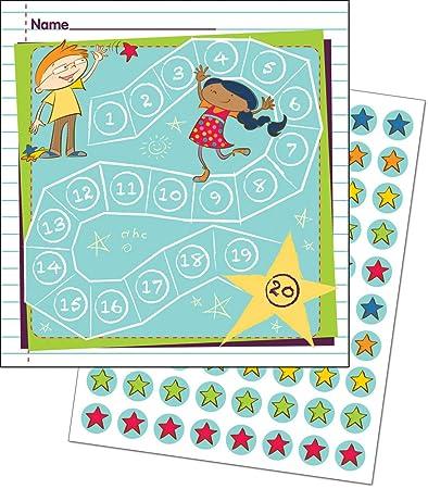Belohnungssystem mit Kärtchen und Sticker/für Lehrer und Eltern/Schüler und Kinder/viele Motive wählbar (Spielende Kinder)