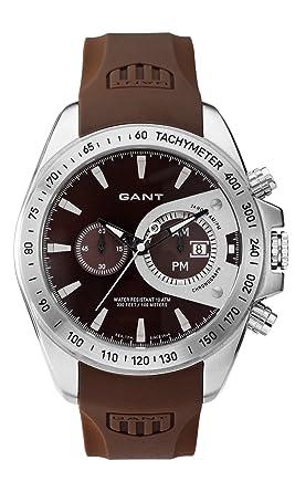 varm försäljning bäst giltig detaljerade bilder Gant Watches Men's Quartz Watch W10389 with Rubber Strap ...