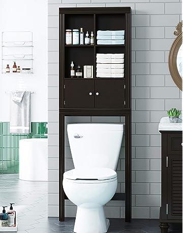 Remarkable Over The Toilet Storage Amazon Com Spiritservingveterans Wood Chair Design Ideas Spiritservingveteransorg