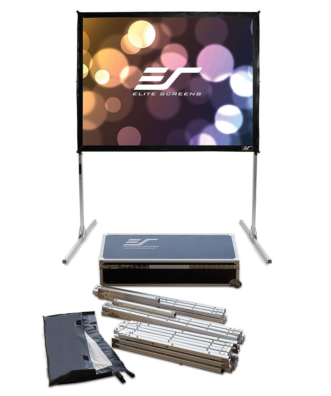 エリートスクリーン プロジェクタースクリーン クイックスタンド 200インチ(4:3) シネホワイト素材 Q200V1 B009A0UUZ6
