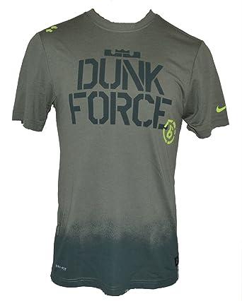 Nike Men s Lebron James Asia Exclusive Dunk Force Shirt XX-Large Green ed42344c3