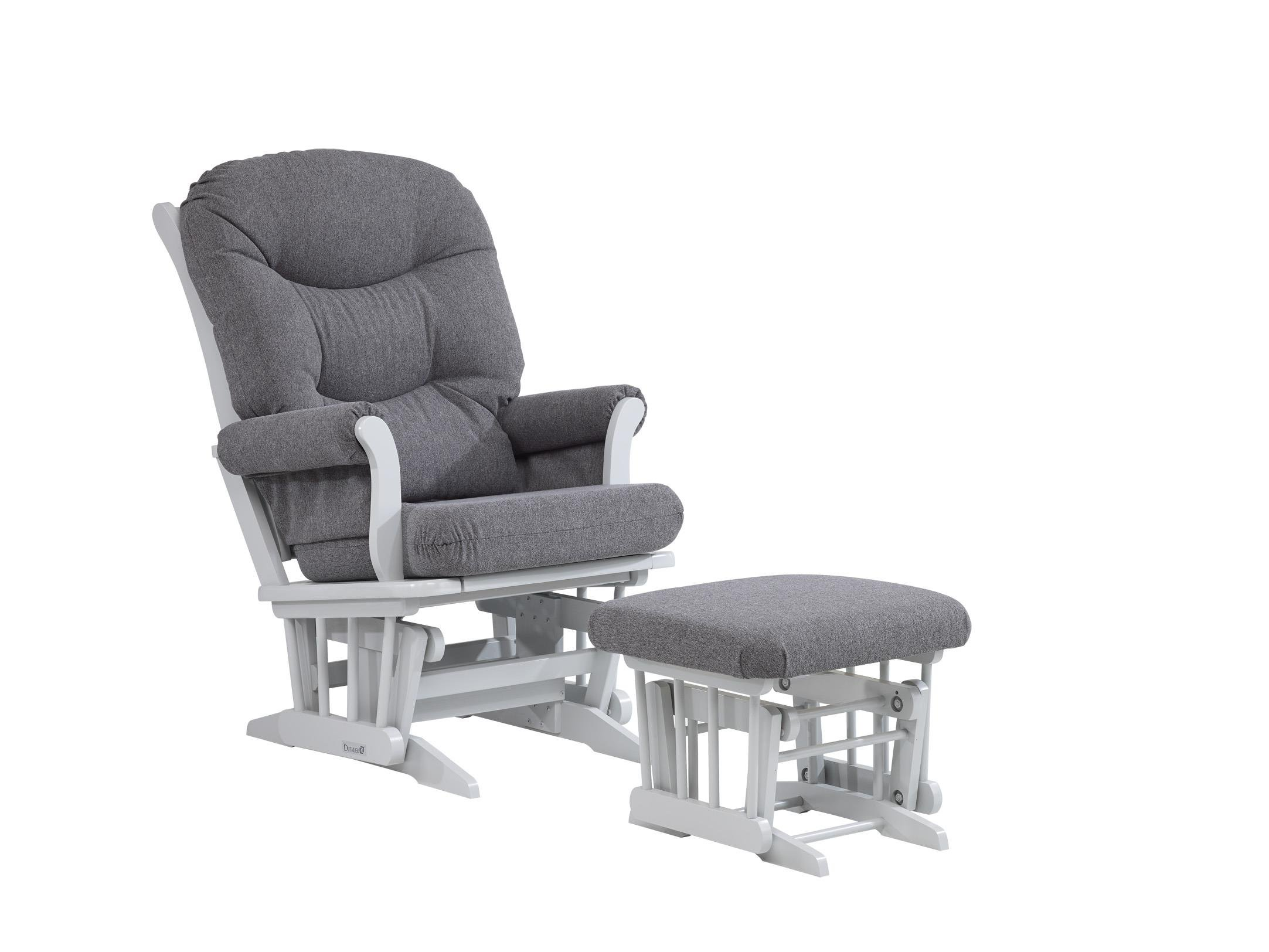 Dutailier SLEIGH 0336 Glider chair with Ottoman included by Dutailier