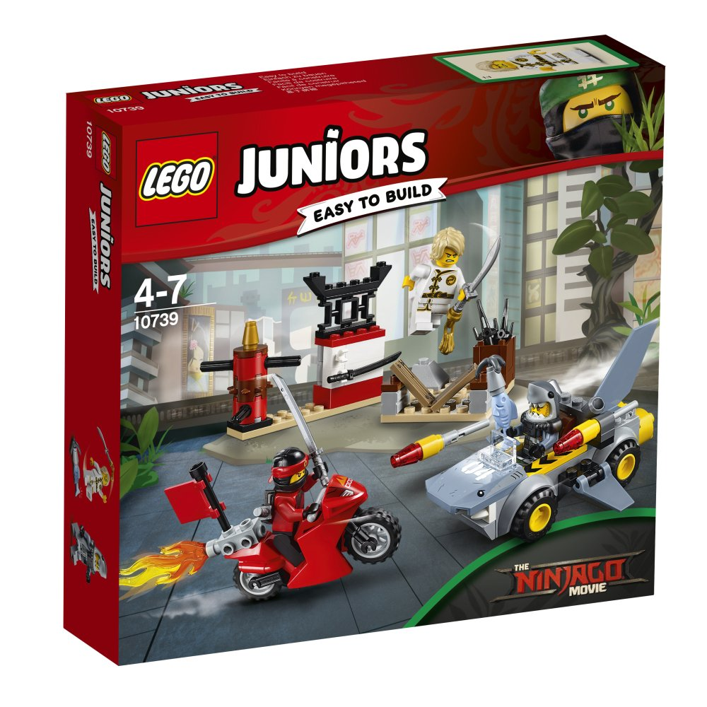 Ninjago movie juniors set revealed brickset lego set for Modele maison lego