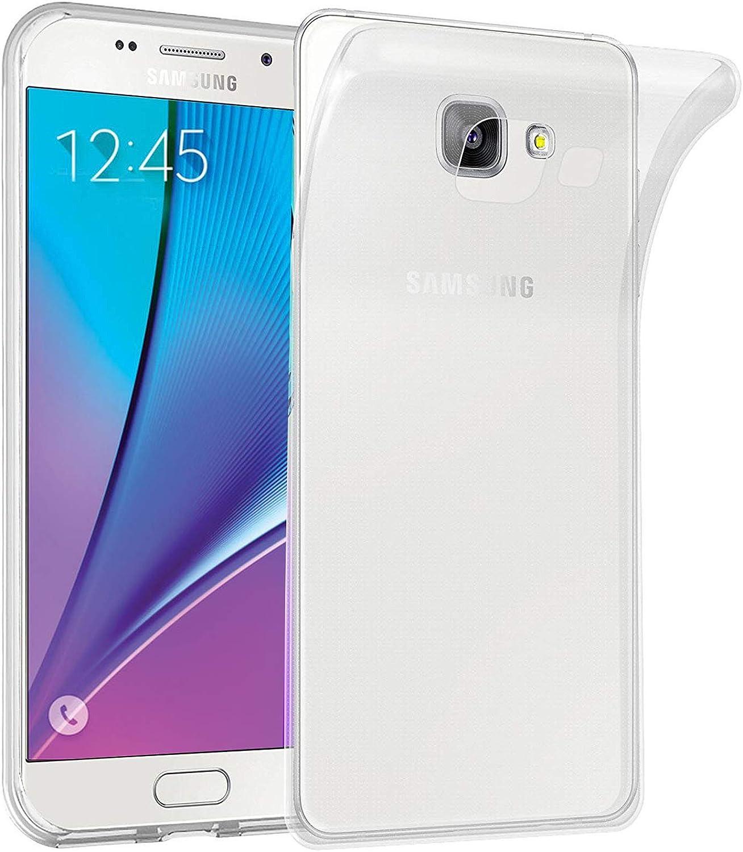 LUCKLYSTAR® Carcasa para Samsung Galaxy C5 Pro Slim Transparente TPU Silicona Funda Anti-Rasguño Anti-Golpes Protective Case para Samsung Galaxy C5 Pro(3PCS): Amazon.es: Hogar
